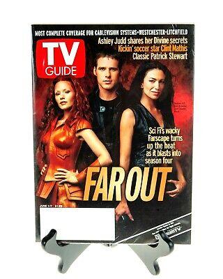 Farscape 2002 TV Guide FAROUT Hill, Browder, Black MINT