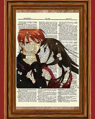 Tohru and Kyo Fruits Basket Dictionary Art Print Picture Poster Anime