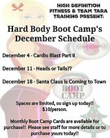 Indoor Boot Camp - $10