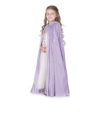 Lavendel Panne Umhang Kinder Kostüm - Lavendel Kinder Kostüm