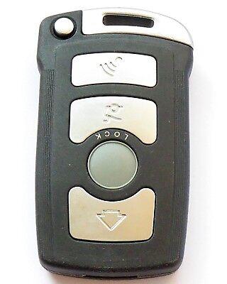 BMW 7 er  E65 E66 E67 Fernbedienung Cover Schlüssel Gehäuse Neu 4 Tasten Key
