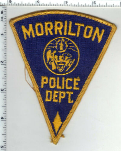 Morrilton Police (Arkansas) 1st Issue Shoulder Patch