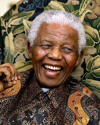 (Nelson Rolihlahla Mandela 8 x 10 GLOSSY Photo Picture)