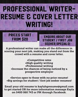 contentify professional resume cv and cover letter writer