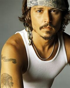 Johnny Depp   8 x 10 GLOSSY Photo Picture