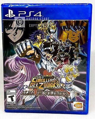 Saint Seiya Soldiers Soul - Los Caballeros Del Zodiaco - PS4 - Brand New
