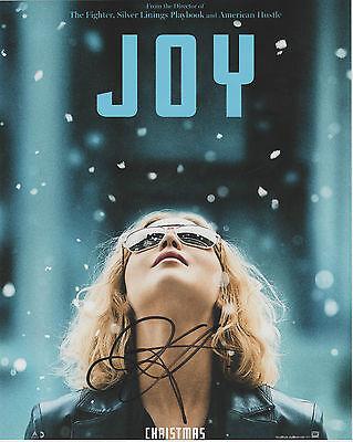 Jennifer Lawrence Hand Signed 8 X 10  Joy  Photo Autograph W  Coa Auto