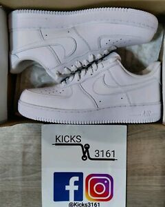 Nike Air Force 1' 07 - White / White 🕊️ - Brand New - Size 11 US Mens