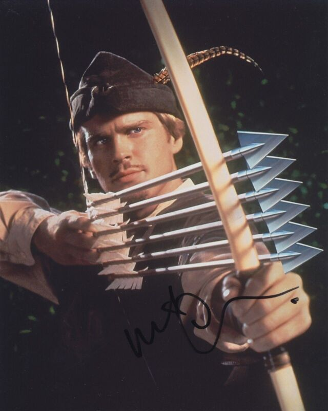 CARY ELWES SIGNED ROBIN HOOD MEN IN TIGHTS 8X10 PHOTO