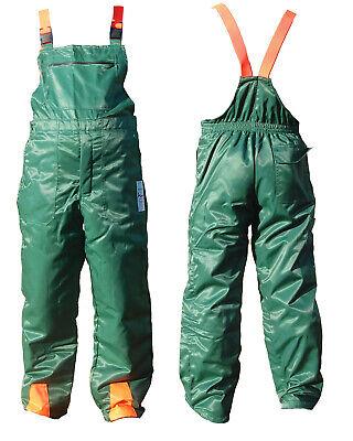 Chainsaw Protection. Bib & Brace Trousers   XL 44