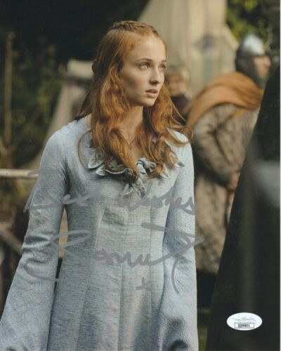 Sophie Turner Game of Thrones Autographed Signed 8x10 Photo COA #5