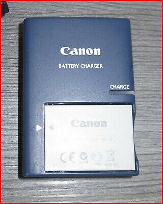 Canon Digitalkamera Akkuladegerät für Canon PowerShot S100/ S110 + 1x Akku (Canon S100)