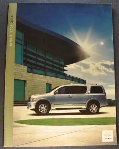2004 Infiniti QX56 Catalog Sales Brochure Excellent Original 04