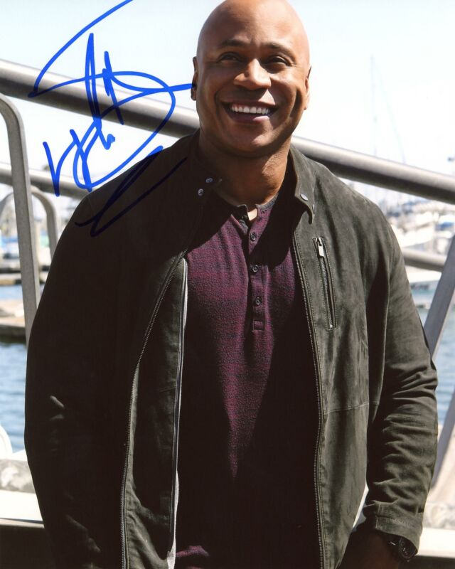 "LL Cool J ""NCIS: Los Angeles"" AUTOGRAPH Signed 8x10 Photo C ACOA"