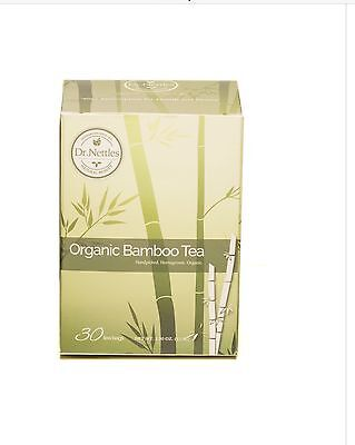 Bamboo Leaf Tea Dr Nettles Natural Beauty 30 bags not flavored -