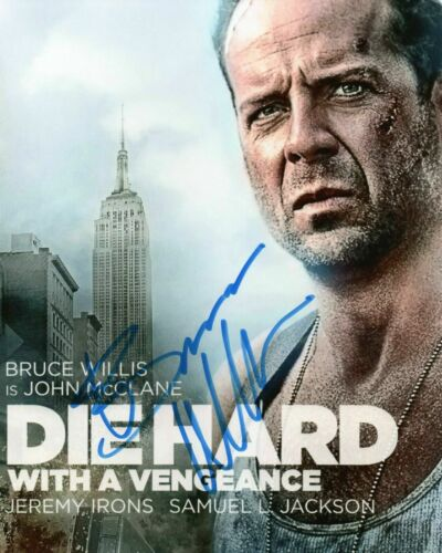 Bruce Willis Die Hard Autographed Signed 8x10 Photo Reprint