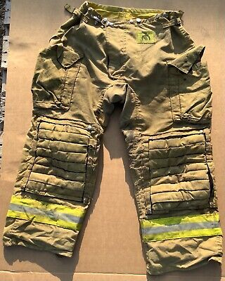Morning Pride Turnout Bunker Pants Fire Fighting Firefighter Gear 36 X 30