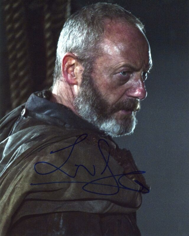 "Liam Cunningham ""Game of Thrones"" AUTOGRAPH Signed 8x10 Photo B"