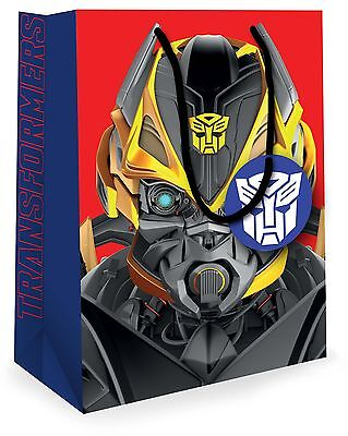 Transformers Gift Bag  - Large Bag with Tag  FREE 2ND CLASS
