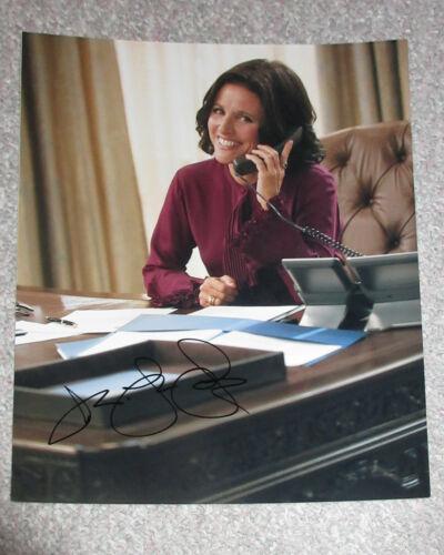 *SELINA MEYER* Julia Louis-Dreyfus Signed VEEP 11x14 Photo PROOF COA Seinfeld A