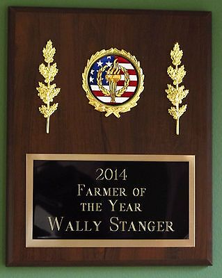 Retirement/Recognition/Employee Award Plaque 8x10 Trophy FREE custom engraving