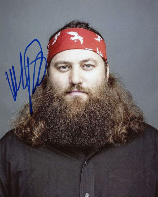 """Willie Robertson """"Duck Dynasty"""" AUTOGRAPH Signed 8x10 Photo C ACOA"""