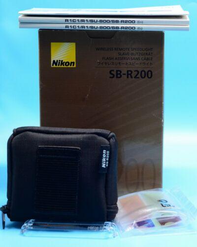 Nikon Speedlight SB-R200 AF Shoe Mount Flash for  Nikon Exc++++++ in Box 1/6