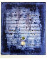 Dieter Eckert,o.t Acquaforte A Colori -  - ebay.it