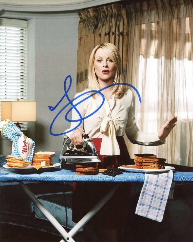 "Amy Poehler ""Parks and Recreation"" AUTOGRAPH Signed 8x10 Photo C ACOA"