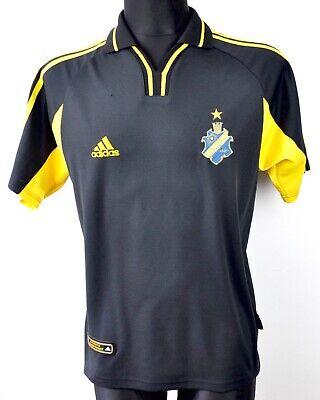 STOCKHOLM FOOTBALL AIK vintage Adidas 2000 Mens Small Home Shirt Jersey Trikot S image