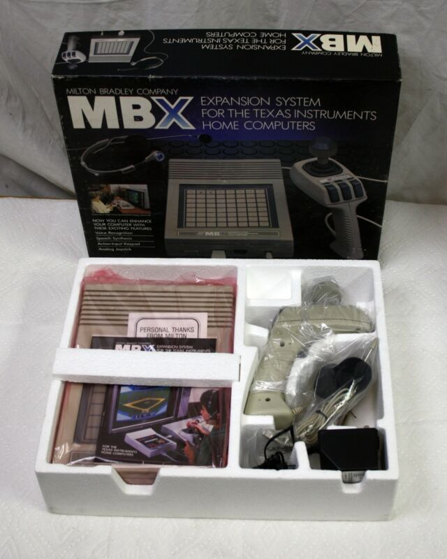 NEW MBX Expansion System for Texas Instruments TI-99/4a Home Computer Very Rare!