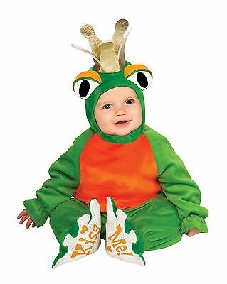 Frog Prince Infant Costume Baby Toad Costume Fairytale Infant Size 6-12 months - Baby Toad Costume