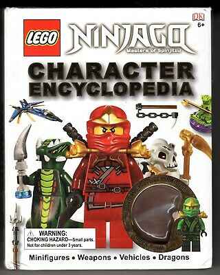LEGO NINJAGO: Character Encyclopedia Masters of Spinjitzu. BOOK ONLY..NO FIGURE.