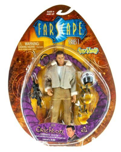 NEW Farscape JOHN CRICHTON - COMMANDER CRICHTON Series 1 Action Figure