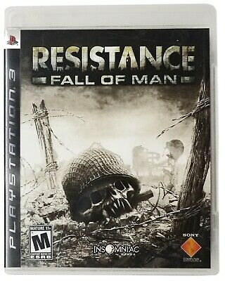 Used, Resistance: Fall of Man PS3 (Sony PlayStation 3) Experience The Chimera wars for sale  Shipping to Nigeria
