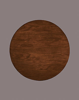 Signature Design by Ashley Owingsville Round Dining Room Table Top Black/Brown