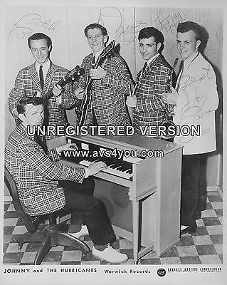 """Johnny and the Hurricanes 10"""" x 8"""" Photograph no 7"""