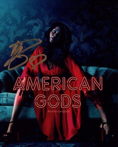YETIDE BADAKI SIGNED AMERICAN GODS 8X10 PHOTO! BILQUIS! SEXY! AUTOGRAPH
