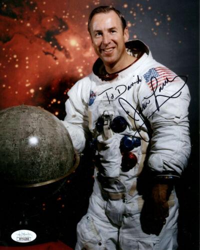 JAMES LOVELL HAND SIGNED 8x10 COLOR PHOTO     NASA ASTRONAUT    TO DAVID    JSA