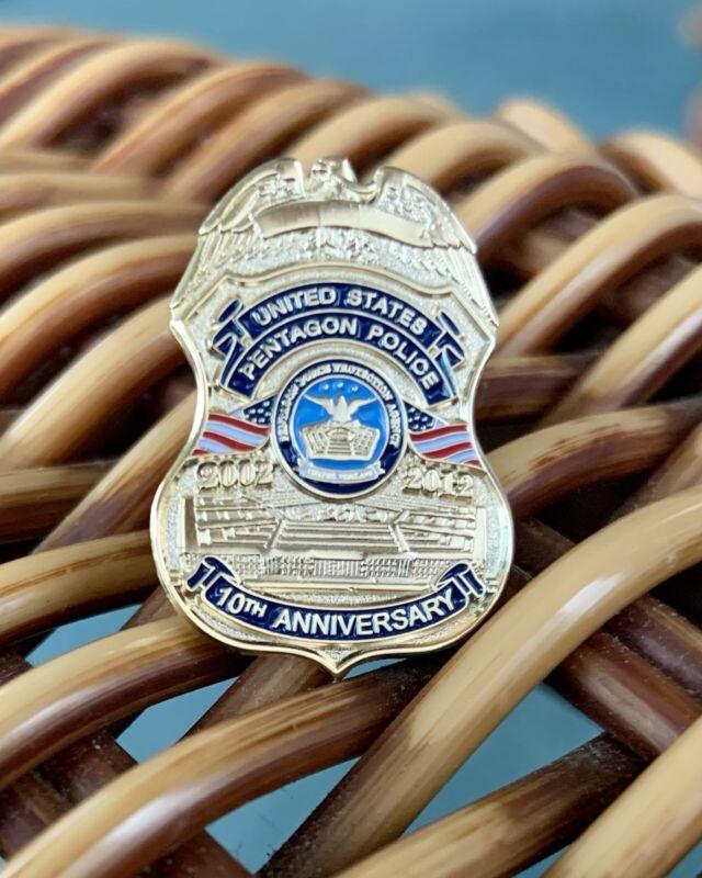 PFPA/Pentagon Police 10th Anniversay Lapel Badge Pin