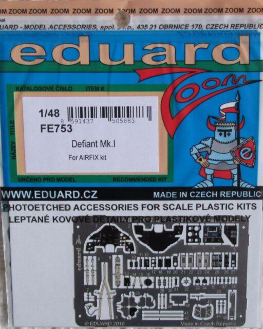 Eduard 1/48 FE753 Colour Zoom etch for the Airfix Boulton Paul Defiant Mk I Kit