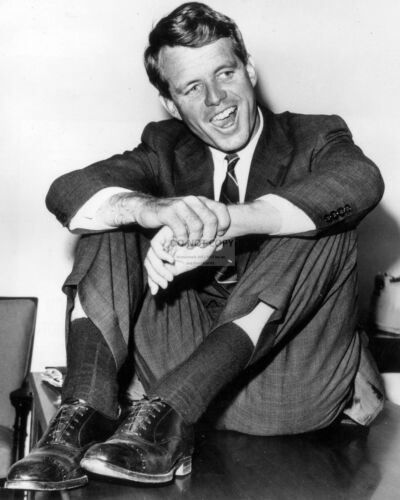 ROBERT KENNEDY RELAXES DURING BROTHER JOHN