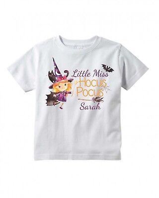 Personalized Halloween Shirts Baby (Miss Hocus Pocus ~ Halloween ~ Personalized ~ Infant/Toddler Shirt)