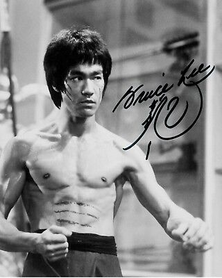 BRUCE LEE #1 - 10x8 PRE PRINTED LAB QUALITY PHOTO PRINT - FREE DELIVERY