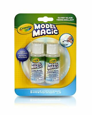 Crayola Model Magic Glossy Glaze, Craft Supplies, Double Pack Model Magic Craft Pack