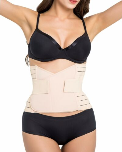 NEW Womens Waist Trainer Slimming Belt Cincher Gym Band Shapewear Dual Straps