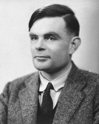 Alan Turing Scientist Mathematician Poster Art Photo Artwork 11X14 16X20 20X24