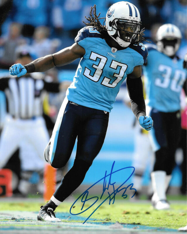 GFA Tennesse Titans * MICHAEL GRIFFIN * Signed 8x10 Photo RW1 COA