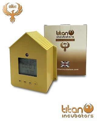 ELITE Chicken House Automatic Door Opener With LIGHT SENSOR & TIMER, for coops