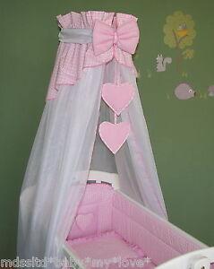 Swinging Crib Bedding Sets With Drapes